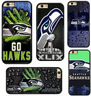 NFL Seattle Seahawks Plastic Hard Phone Case Cover Fits For iPhone Samsung