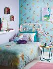 Arthouse Mermaid World Wallpaper Teal Feature Wall 1644034