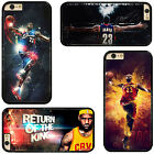 Cleveland Cavaliers CAVS King Lebron James Phone Case Cover For iPhone Samsung