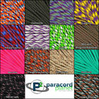 Paracord Planet 550 Type III 7 strand parachute cord - NEW Colors 10 20 50 100ft