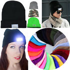 Winter Cap 5 LED Hip-hop Sports Camping Woolen Yarn Beanie Hat Angling Lighted