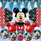 SELECTIONS MINNIE & MICKEY Foil Balloons & Party Supplies Birthday Shower lot MC