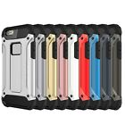 iPhone 5 6 7 8 X Tough Hard Armour Shock Proof Strong Armour Case Cover Bumper