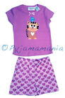 Pyjamas Girls Summer Short 2 pc Pjs Set (sz 0-2) Purple Cat & Hearts Sz 0 1 2