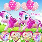 MY LITTLE PONY BALLOONS Pinkie Horse Balloons Shower Birthday Party Supplies B