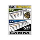 SX Fly Rod 'Combo 2' + Advance Fly Reel - 4, 5, 6, 7, 8, 9, 10wts