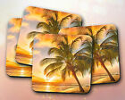 Nature // Palm Trees, Sunset, Beach, Tropical, Summer // Coaster [NEW!] 15