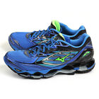 Mizuno Wave Prophecy 6 Blue/Green/Black Smooth Ride Top Running Shoes J1GC170041