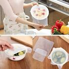 3/4/5Pcs Reusable Silicone Wrap Seal Cover Stretch Cling Film Fresh Food Keeping