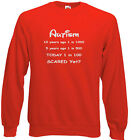 Autism Carers Adults Sweats and Hoodie, Autism on the increase, scared yet?