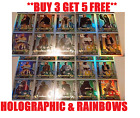 2017 Star Wars Force Attax Universe CHOOSE YOUR HOLOGRAPHIC & RAINBOW FOIL CARD £0.99 GBP