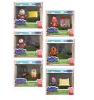 Peppa Pig Mini Series Figure & Accessory Set Many Characters Age 3+