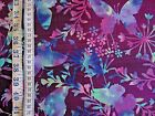 Mariposa Meadow on purple background 100% cotton Fabric from Studie E