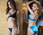 ONE Katie & Laura's Fancy Satin Panty String Bikini, your choice of Sexy Colors!