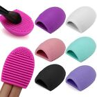 Silicone Brush Cleaner Egg Cleaning Glove MakeUp Washing Brush Scrubber Board