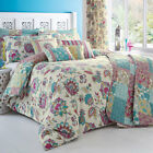 Dreams 'N' Drapes Marinelli Floral Reversible Duvet Cover Set, Multi
