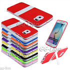 Gel TPU Stand Case Cover For Samsung Galaxy S6 edge, G925A G925K G925F G925X