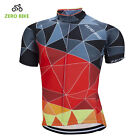 Zerobike New Cycling Jersey Men Colorful Bike Shirts MTB Clothing Top Cycle Wear