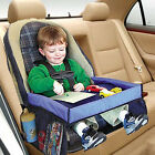 Waterproof Baby Safety Travel Tray Drawing Board Table Kids Car Seat Snack LAUS