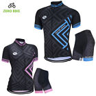 Unisex Bicycle Cycling Jersey Pants Short Set Short Sleeve Sport Clothing S-XXL