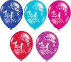 "20 X JUST MARRIED 12"" PREMIUM PEARLISED HELIUM WEDDING PARTY BALLOON BALLOONS"