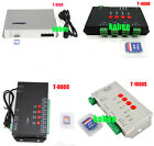 Controller T1000S T4000S T8000A T300K Pixel programable WS2812b WS2801 WS2811