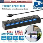 SMART Multi Port USB Station HUB High Speed 40W 8A Desktop Fast Charging Charger