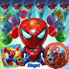 SPIDERMAN Balloons Avengers Marvel Heroes Shower Birthday Party Supplies lot B