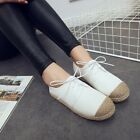 Spring Hot New White Woven Flats Casual Leisure Fashion Womens Shoes Size US7