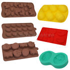 3D Egg Rabbit Shape Silicone Candy Cookies Soap Chocolate Cake Baking Mold Tools