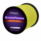 KastKing SuperPower Braided Fishing Line (Yellow/1093 yds) - Abrasion Resistant