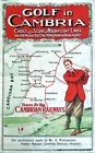 Vintage Cambrian Railways Golf In North Wales Railway Poster A3/A2/A1 Print