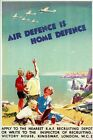 Second World War British RAF Recruitment  Poster  A3/A2/A1 Print