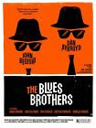 Vintage Blues Brothers Movie Poster A3/A2/A1 Print