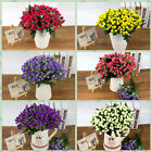 One Bunch Of Small 6 Heads Artificial Fake Roses Flowers Silk Flowers Rose Buds