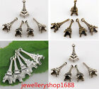 Free Shipping 15/50/150Pcs Pentants Tibetan Silver Mini Eiffel Tower Charms 22mm