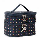Colorful Dotted Makeup Storage Travel Holder Cosmetics Toiletry Oxford Cloth Bag