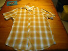 MENS HORNY TOAD S/S CASUAL BUTTON SHIRT  XL  NWOT