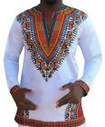 Casual Party Dress African tee Dashiki Hippie Festival Tops Fashion Men's Tops