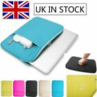 """Water-resistant Laptop Sleeve Case Bag Carry Pouch for MacBook 11""""12""""13""""15.4"""""""
