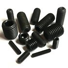 4mm 5mm 6mm 8mm 10mm High Tensile Black Socket Cup Point Grub Screws - Allen