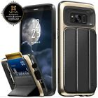 Vena [vCommute] Leather Cover Wallet Card Stand Case Samsung Galaxy S8 S8 Plus <br/> [OFFICIAL STORE][Fast Ship][Stores up to 3 Cards]