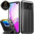 Samsung Galaxy S10  Plus S9 S8?vCommute?Magnetic Leather Wallet Case Card Cover