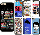 Friends TV Show Series Sitcom Plastic Hard Phone Cover Case For iPhone / Samsung