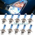 10-Piece H7 6000K Xenon Gas Halogen Super White Light Lamp Bulbs 55W/ 100W 12V