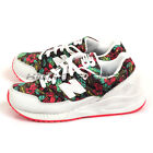 New Balance W530TCA B White & Pink & Green flowers Retro Lifestyle Shoes NB