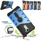 Armor Heavy Duty Men Rubber Hybird Silicone Gle Kickstand Case Cover For Phones