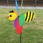 Windmill Wind Spinner Whirligig Children Multicolors Toys Classic Rainbow 7c