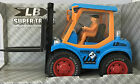 BATTERY OPERATED 3D LIGHTS BUMP & GO CONSTRUCTION MODEL FORK LIFTER TRUCK TOY