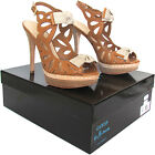 GUESS by Marciano sandalo donna in pelle marrone con tacco leather sandals €199